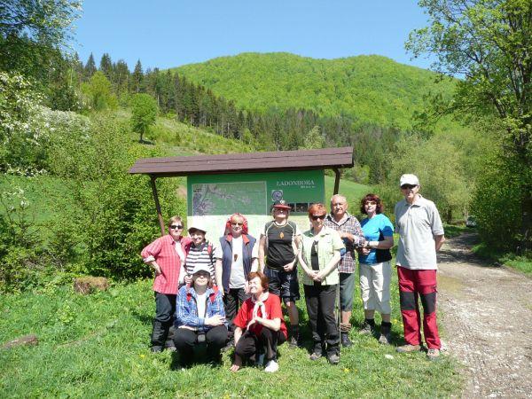 Krátka trasa pod Ľadonhorou (5.5.2012)