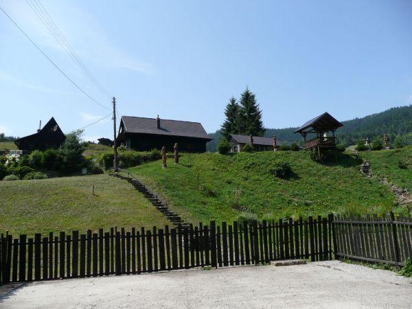 Ráztoka - drevená dedina (6.7.2012)