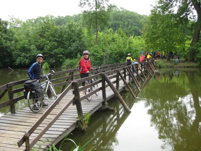 Most cez rieku Dyje (14.5.2011)