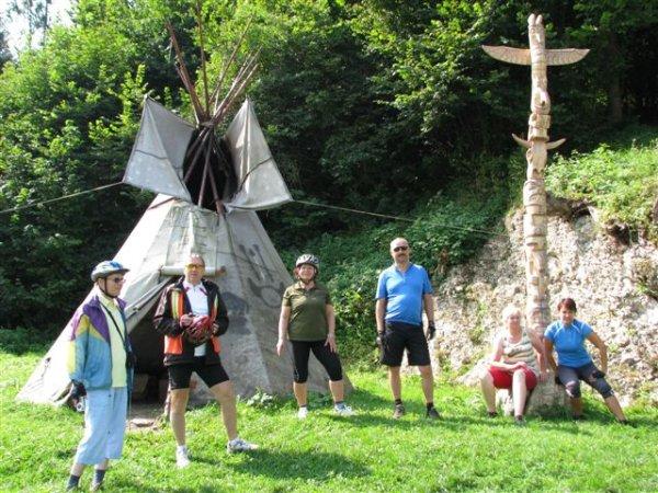 U indiánov pri Sklabini (29.8.2011)