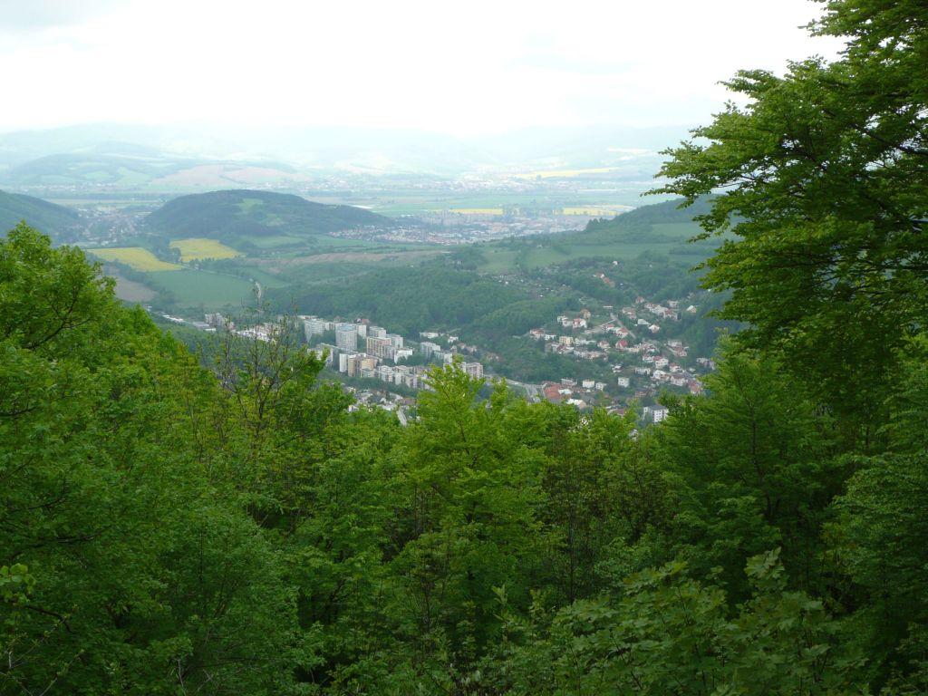Výhľad z Klepáča (9.5.2010)
