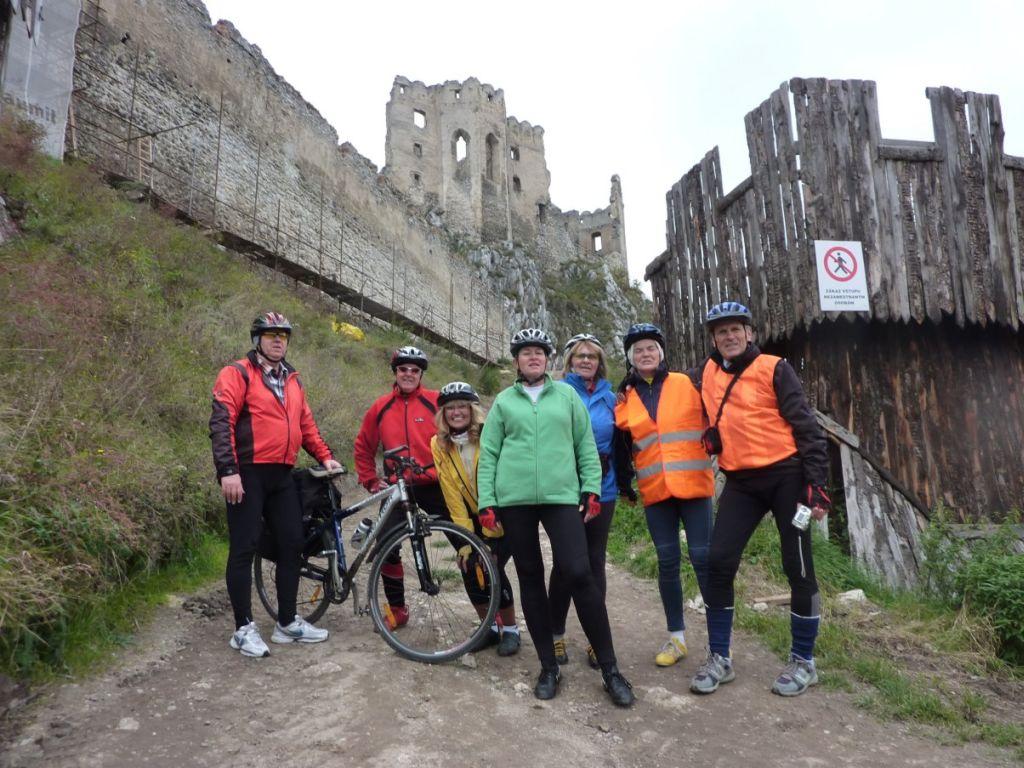 Zrúcanina hradu Beckov (3.10.2010)