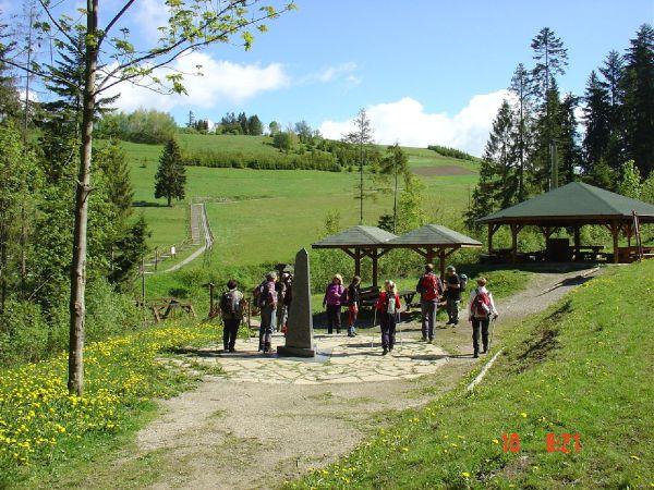 Trojmedzie - slovenská strana